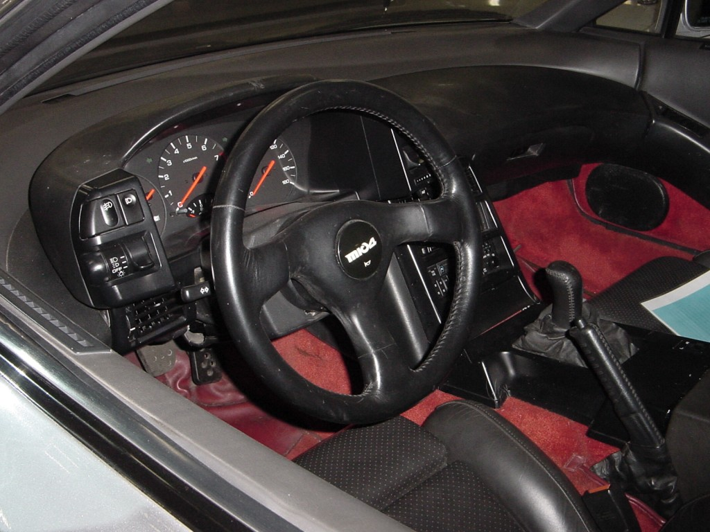 Z32 owners would feel right at home in this interior.