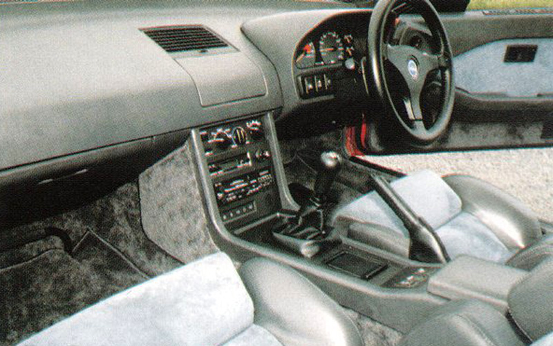 The MID-4's RHD interior.