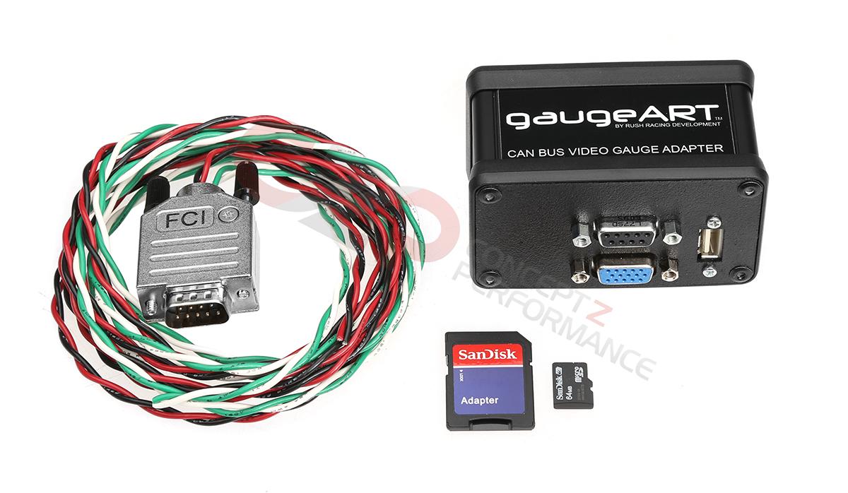 GaugeART 21551 CAN Bus Video Gauge Adapter Universal - Concept Z Performance