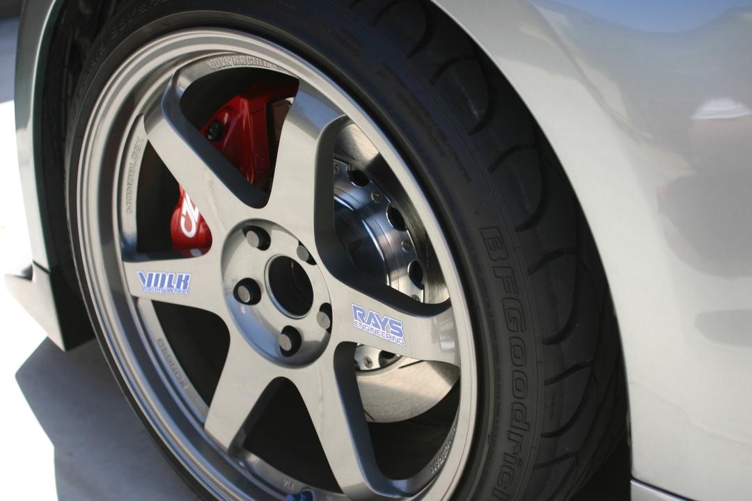 Custom Wheel Offset >> CZP Nissan / Infiniti Akebono Big Brake Kit, Front & Rear ...
