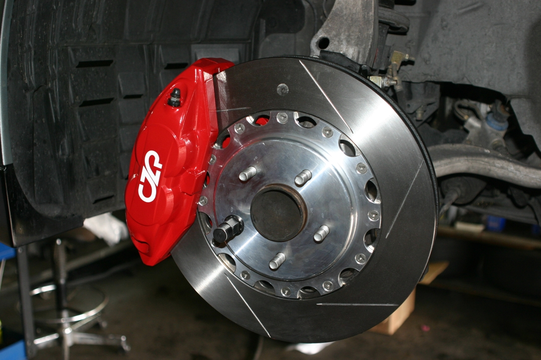 CZP Nissan / Infiniti Akebono Big Brake Kit, Front & Rear 14