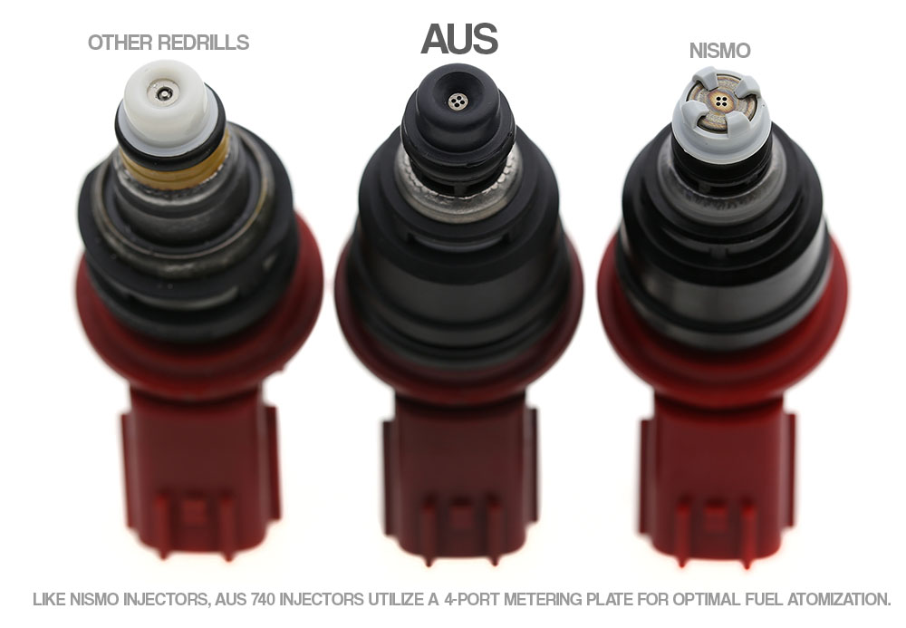 Aus Injection 300zx Injectors 850cc Set Late Style 95
