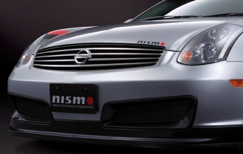 Nismo G35 J-spec Skyline (Nissan) Front Emblem 62890-AM - Concept Z