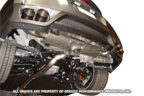 Greddy 10122605 Dual Racing Titanium Exhaust GT-R 09+