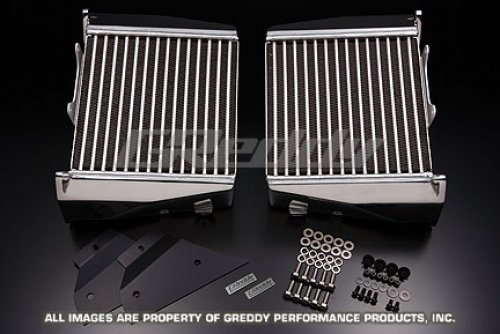 GReddy 12020483 R-SPEC Twin Core Intercooler Kit 09 Nissan GT-R R35