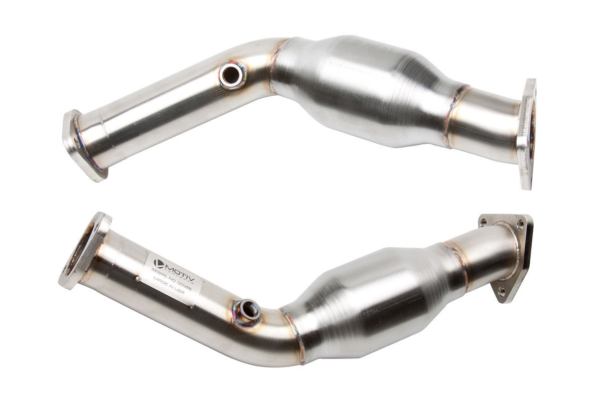 Motiv Concepts NS.209 High Flow Catalytic Converters HFC Nissan 370Z 09+ Z34