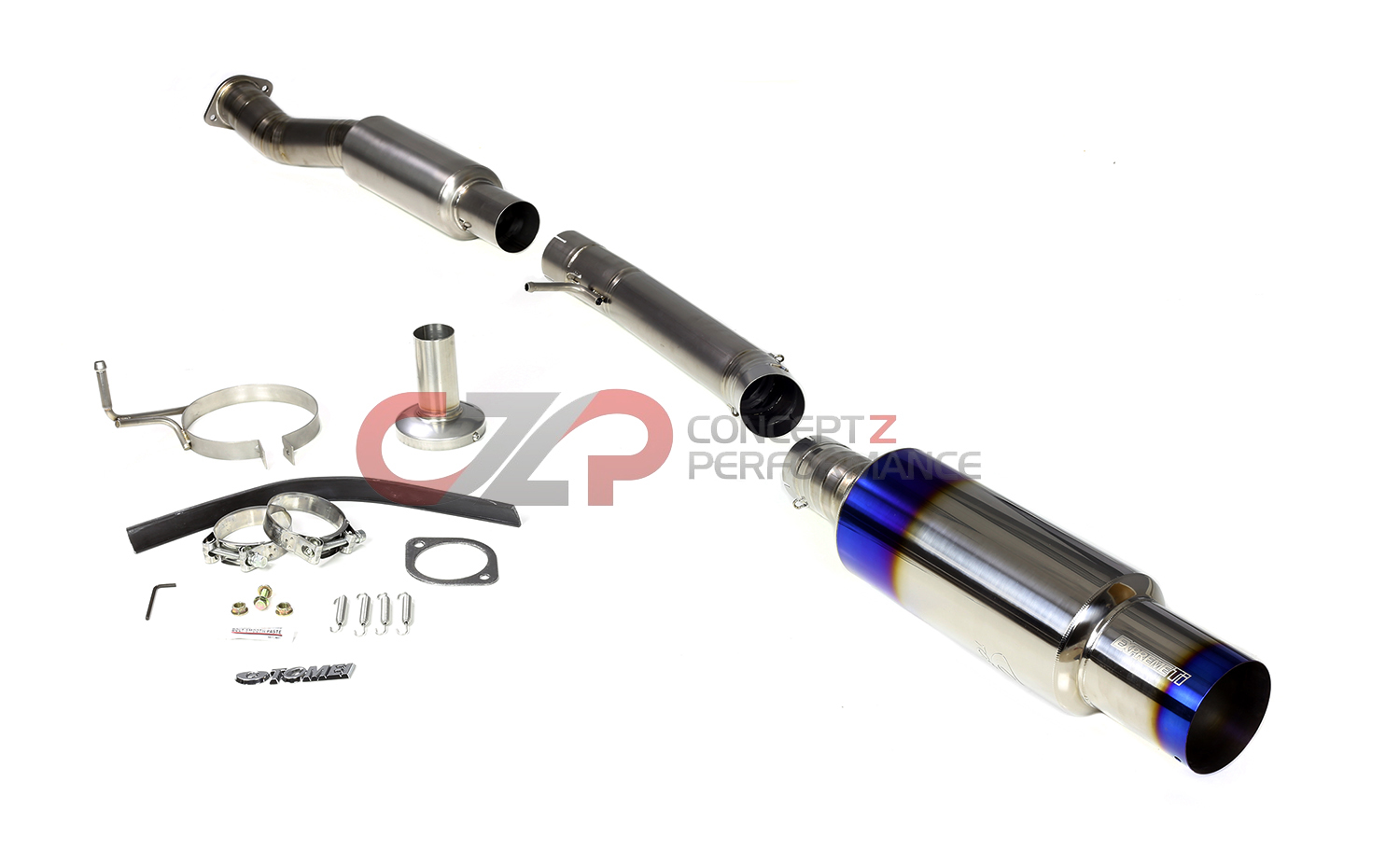 Tomei Expreme Titanium Y-Pipe Back Single Exit Exhaust System - Nissan 350Z Z33 - IN STOCK!!!