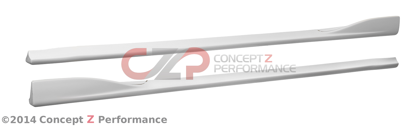 Chargespeed CS722SSF Bottom Line Side Skirts FRP - Nissan 350Z 03-08 Z33