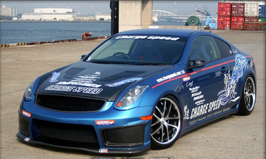 Chargespeed Chargespeed Full Body Kit Infiniti G35 Coupe V35