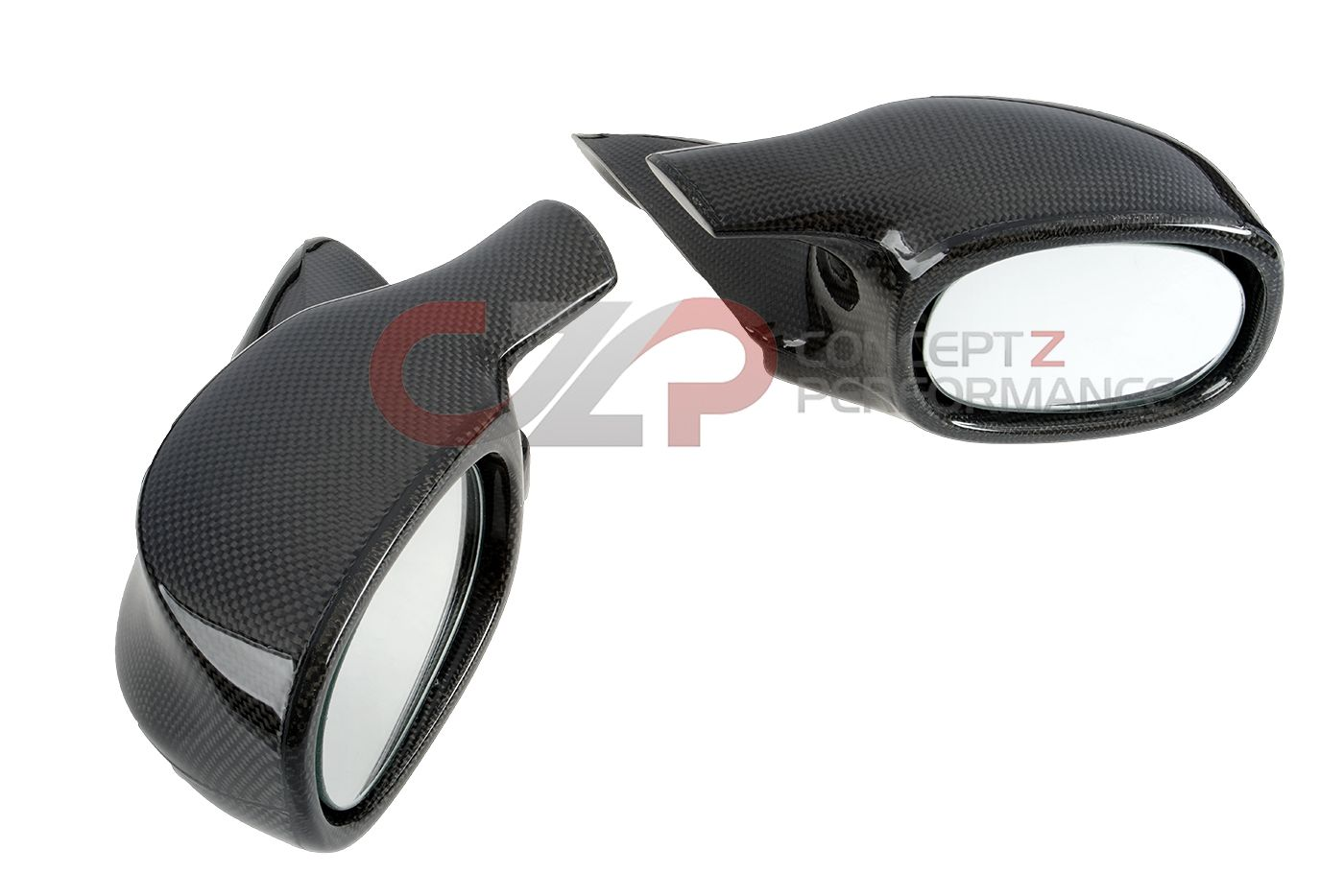 Chargespeed Carbon Fiber Aero Mirrors - Infiniti G35 Coupe 03-07 V35