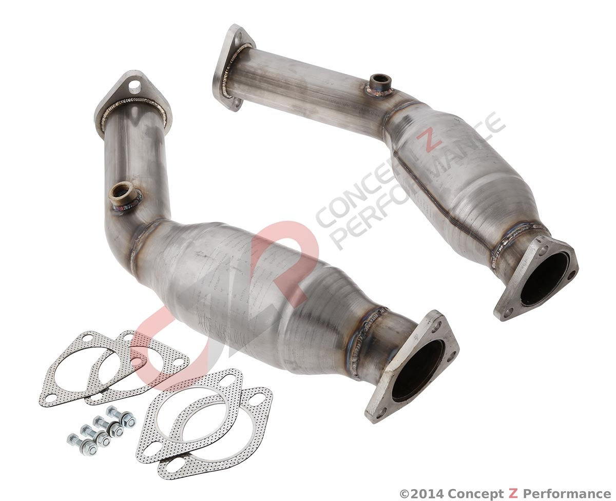 AAM Competition High Flow Cats HFC, VQ35HR VQ37VHR - Nissan 350Z 370Z / Infiniti G35 G37 Q40 Q50 Q60