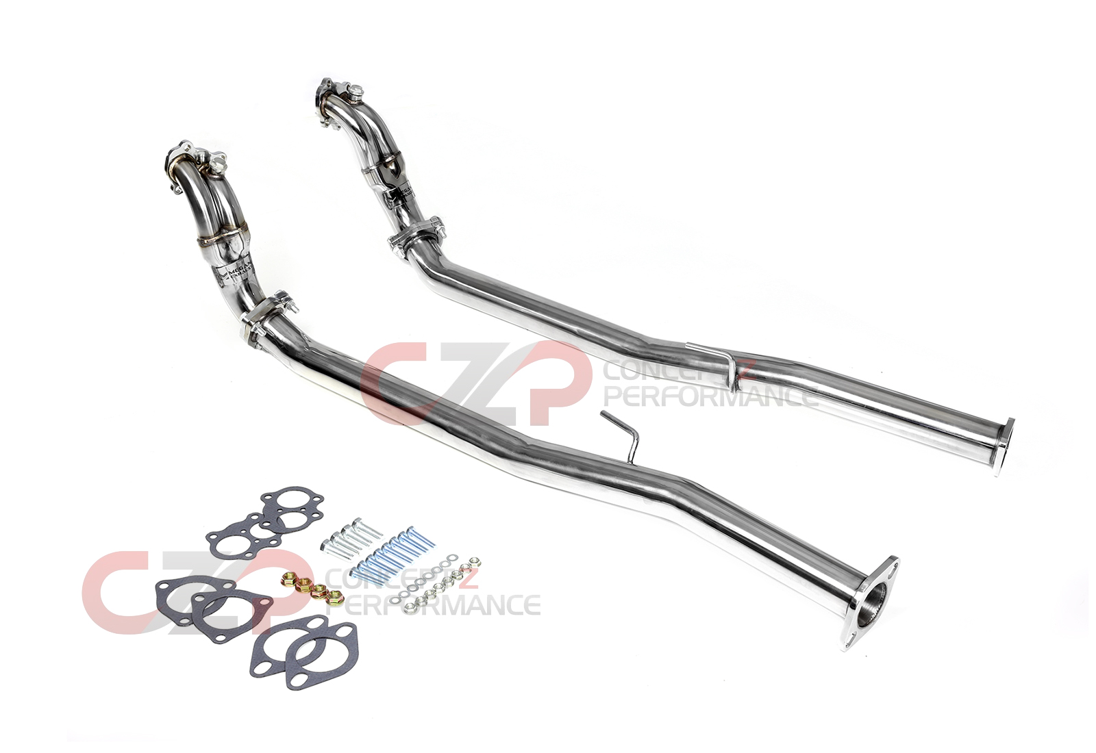 Megan Racing MR-SSDP-N300 Downpipe / Test Pipe Set Twin Turbo Nissan 90-96 Z32