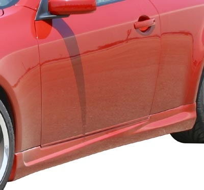 Stillen G35 Side Skirts (L+R), 03-06 Coupe except sport package