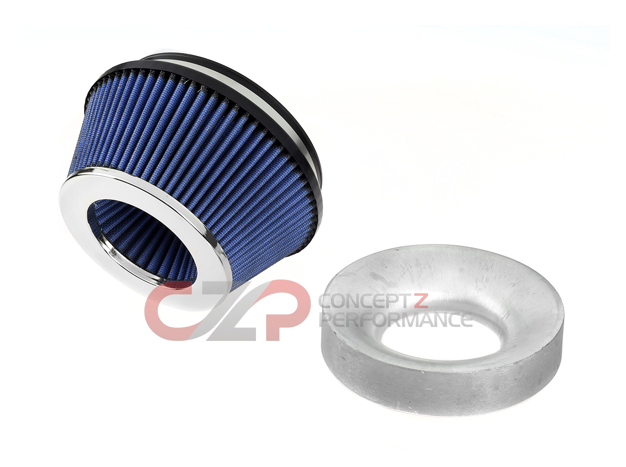 JWT Pop Charger Intake Kit w/ Shorter HR Filter - Nissan 300ZX Z32