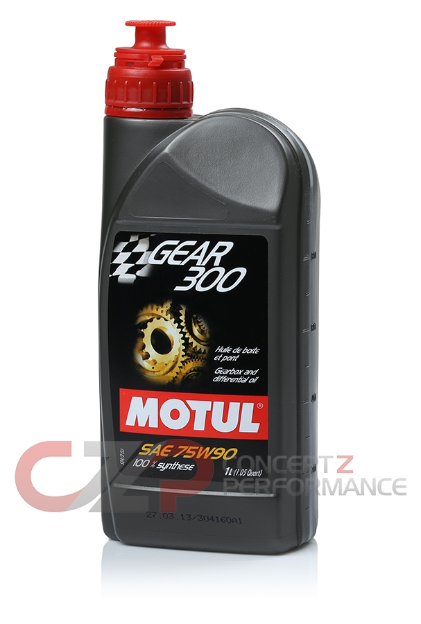 Motul 1L Gear Oil 300 75W90, Transmission Fluid - Synthetic Ester