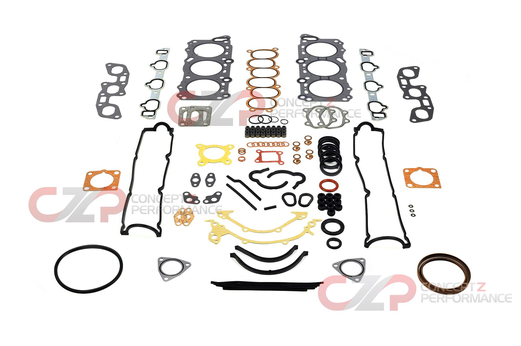 Nissan OEM Engine Gasket Kit w/ Optional Cometic Metal Head Gaskets - Nissan 300ZX Z32
