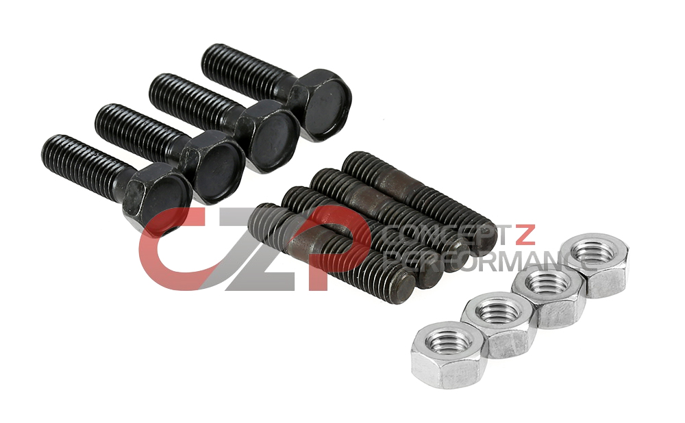 Nissan OEM 300ZX Turbo to Downpipe Hardware Kit, 4-Bolt 90-96 Z32