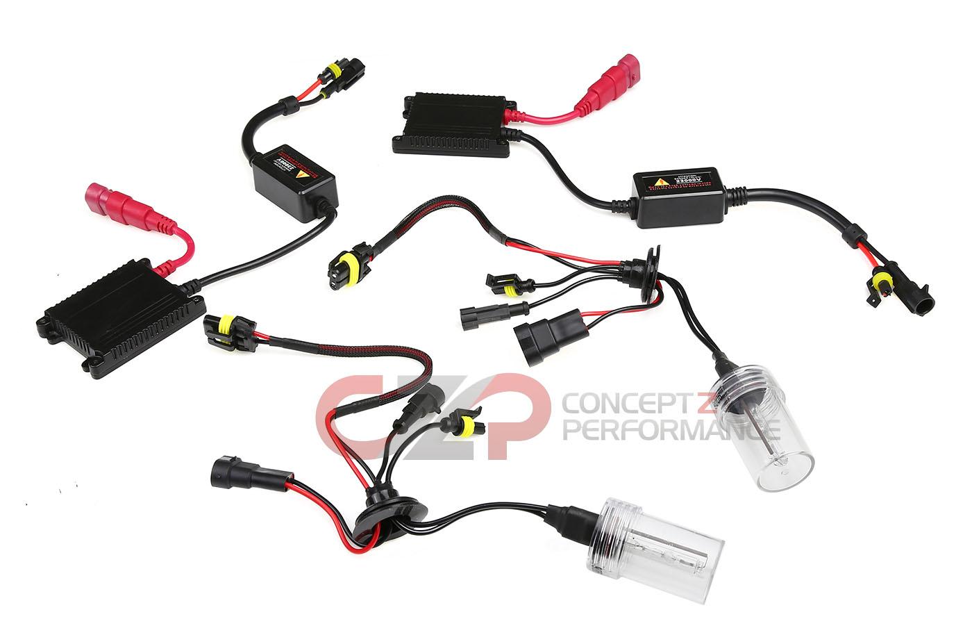 CZP Headlight Upgrade Xenon Conversion HID Kit Low Beam 9006 Bulb