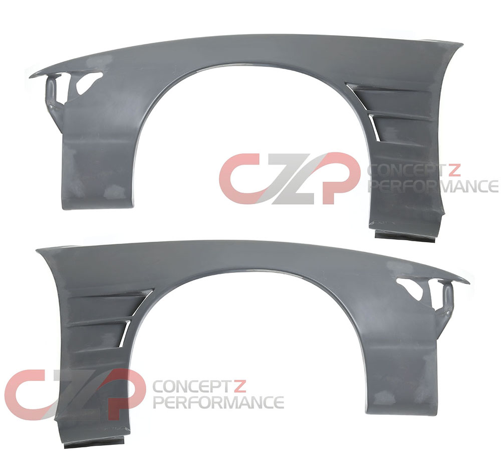 Origin Wide Front Fenders, 40mm - Nissan 240SX Silvia S13