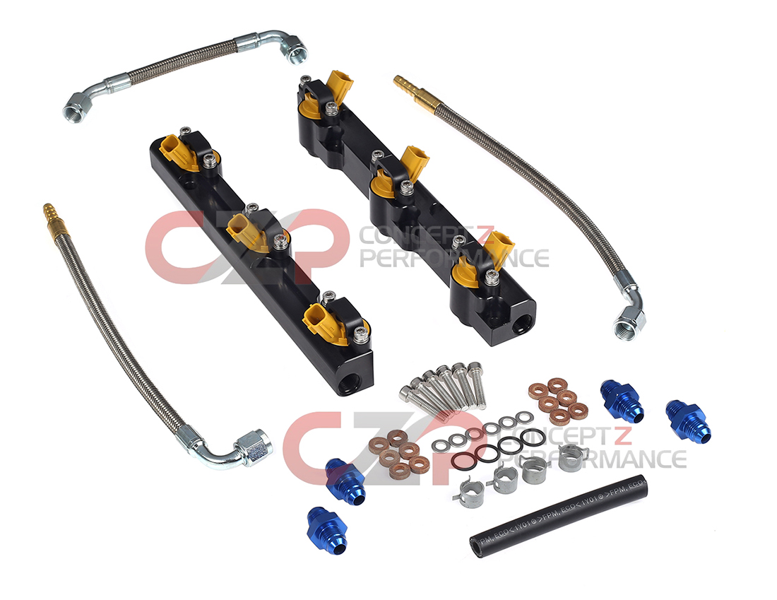 CZP 300ZX High Performance Fuel Rails w/ Nismo 615cc Injectors 90-92 Non-Turbo / 90-94 Twin Turbo Z32