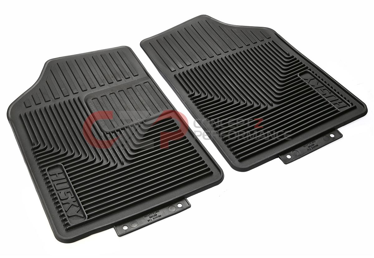 Husky Liners Heavy Duty All Season Front Floor Mats - Universal