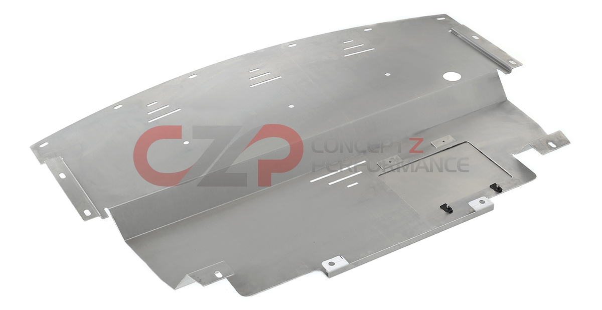 Z Speed Performance ZSP Aluminum Engine Cover Under Panel Shield, AWD - Infiniti 07-08 G35x and 09+ G37x V36 CV36