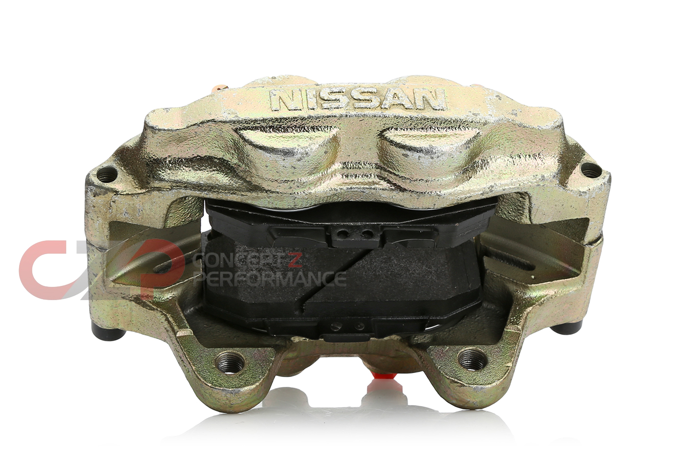 Centric 142.42077 Loaded Iron Rebuilt Brake Caliper, Front RH - Nissan 300ZX 93-96 Z32