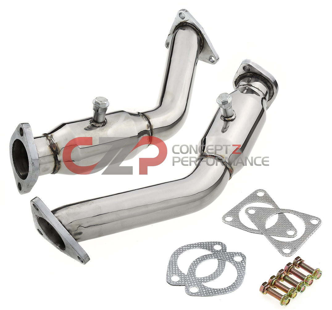 Top Speed Resonated Test Pipes, VQ35HR VQ37VHR - Nissan 350Z 370Z / Infiniti G35 G37 Q40 Q50 Q60