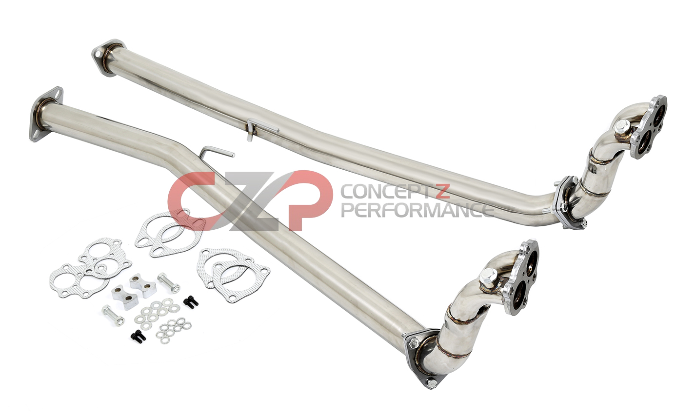 DNA 300ZX Downpipe / Test Pipe Set 60mm 90-96 Z32