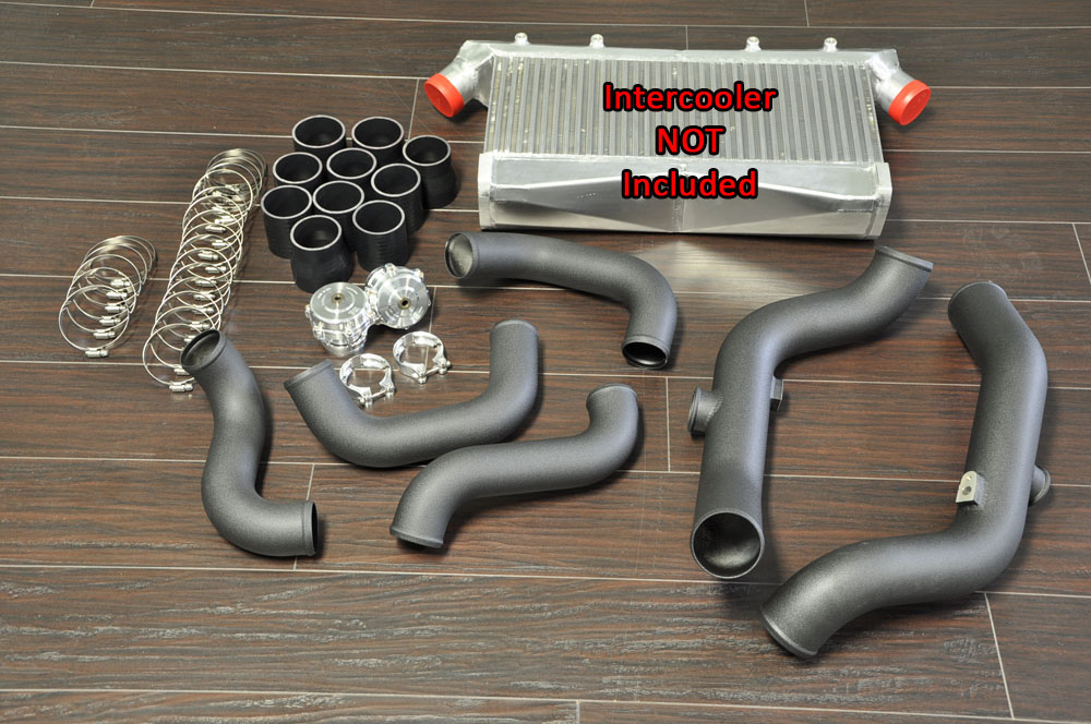 "Boost Logic 02011102 3"" Intercooler Piping Kit Nissan GT-R R35 09+"