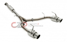 Tanabe T80063 Medallion Concept G Y-Pipe Back Exhaust 03-08 350Z Z33