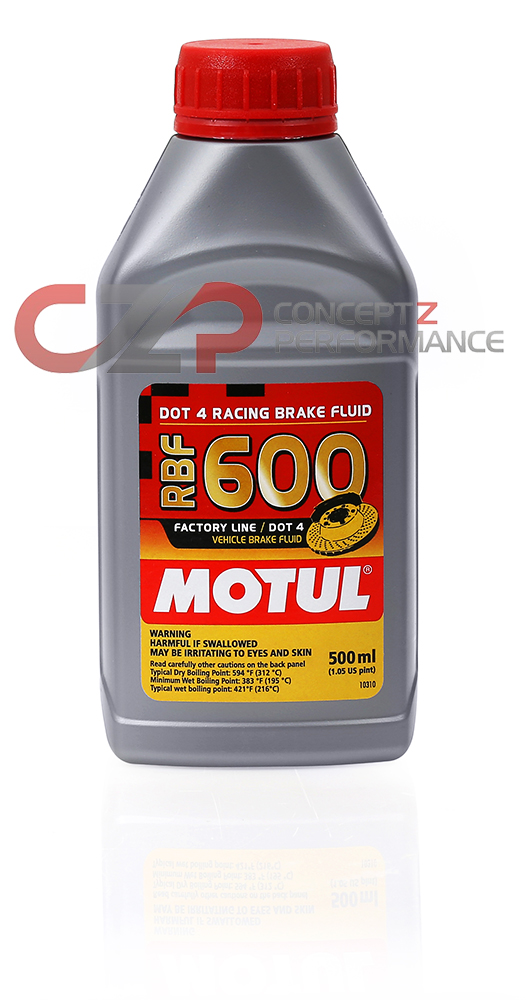 Motul 100949 RBF 600 Racing Brake Fluid DOT 4