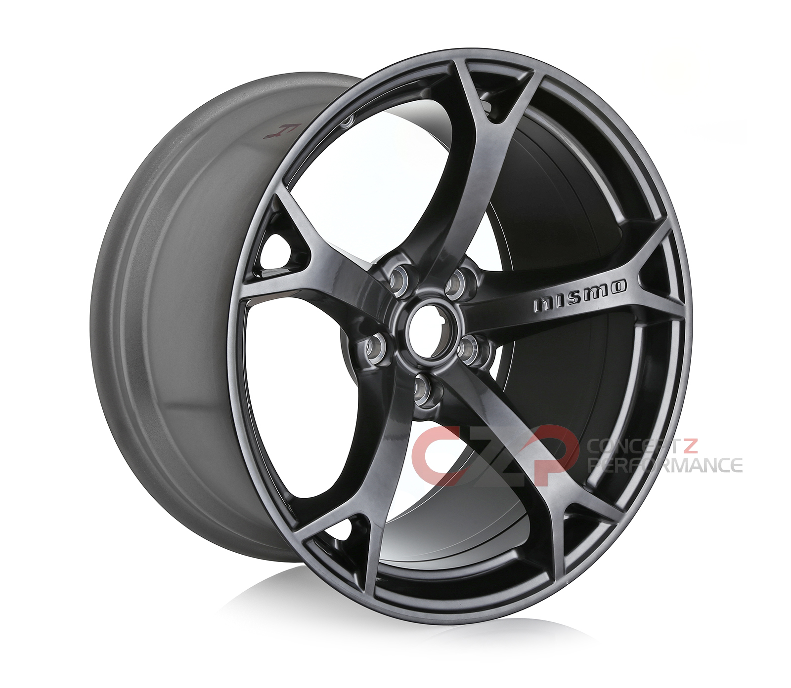 Nissan Infiniti Nissan Oem Nismo Gunmetal Wheel Rim Rear