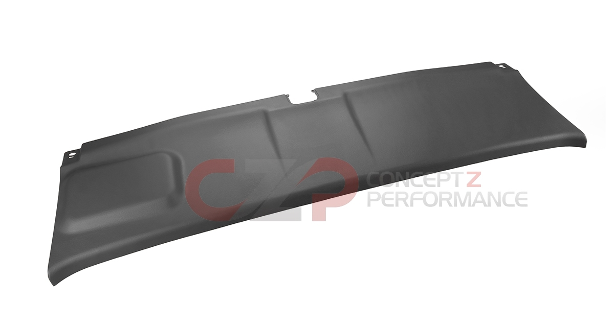 Nissan OEM 90901-48P00 Rear Hatch Trunk Center Finisher, Black - NIssan 300ZX 90-96 Z32