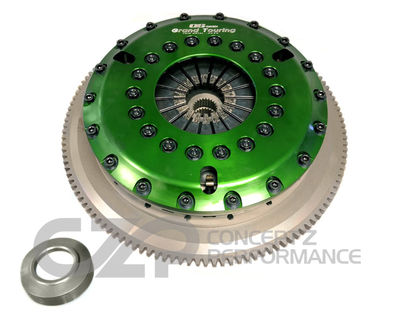 OS Giken NS221-BP6 Grand Touring GTS2CD Twin Disc Clutch w/Soft Aluminum Cover - R34 RB26DETT