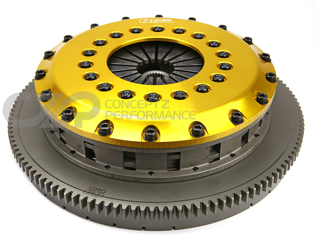 OS Giken NS201-DH5 R3C 204mm Quad DiscClutch w/ Steel Cover - R32 R33 RB26DETT