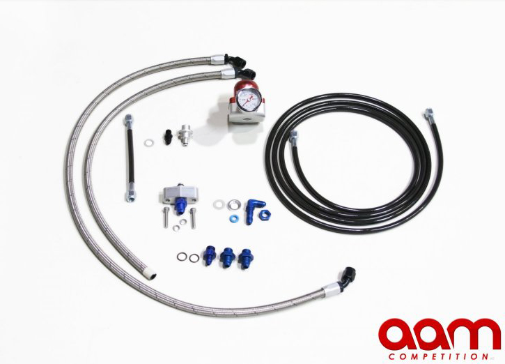 AAM Competition AAM37FS-FRSB Fuel Return System - Nissan 370Z 09+ Z34