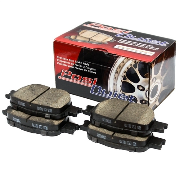 Centric 105.06530 Posi-Quiet Ceramic Brake Pads Front  w/ Standard Non-Sport Calipers Nissan 350Z 03-05 Z33