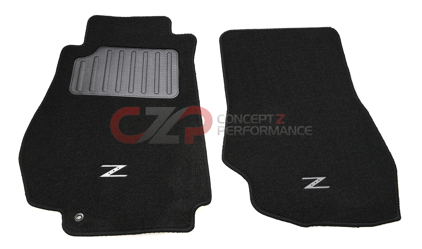 Nissan OEM 350Z Floor Mats 'Z' Black Rough 03-08 Z33