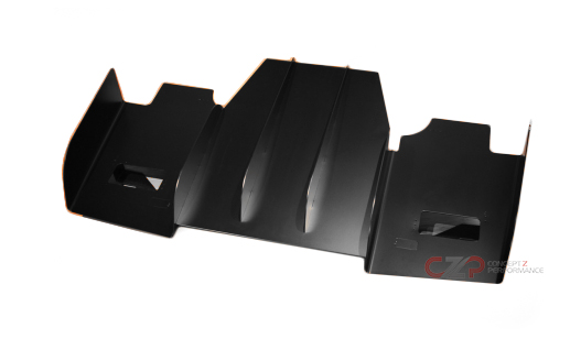 Winfactory Rear Bumper Diffuser Kit - Nissan 300ZX 2-Seater Coupe Z32