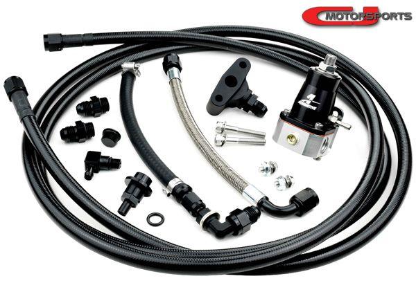 CJ Motorsports S0 Stage 0 Return Fuel System, VQ35DE - Nissan 350Z Z33 / Infiniti  G35 V35 800.4100/1/2 CJM 800.4100 800.4101 800.4102 400.3000 900.5103  900.5106 - Concept Z PerformanceConcept Z Performance