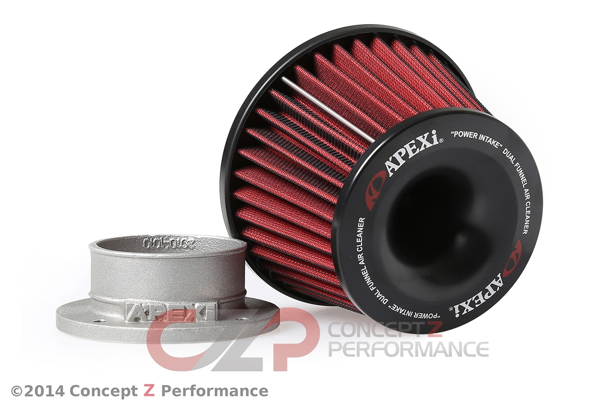 Apexi 500-A025 Dual Funnel Power Intake Filter 80mm Universal Adapter