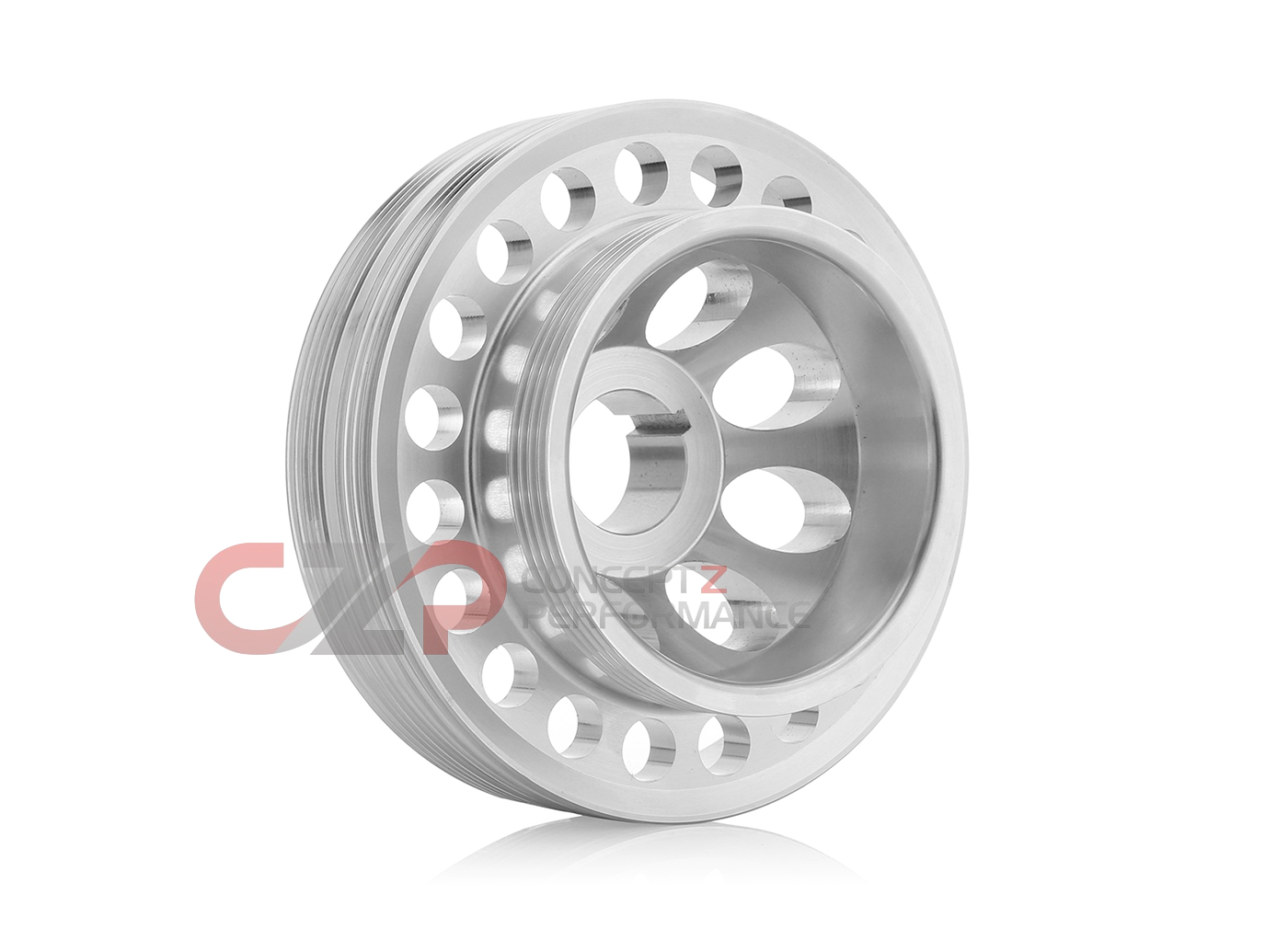 Unorthodox Racing CS1061 Lightweight Crank Pulley, Stock Size - Nissan 300ZX 90-96 Z32