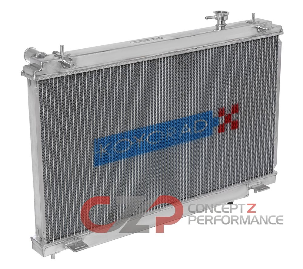 Koyorad Hyper-V Aluminium Racing Radiator MT, 36mm Core - Nissan 03-06 350Z Z33