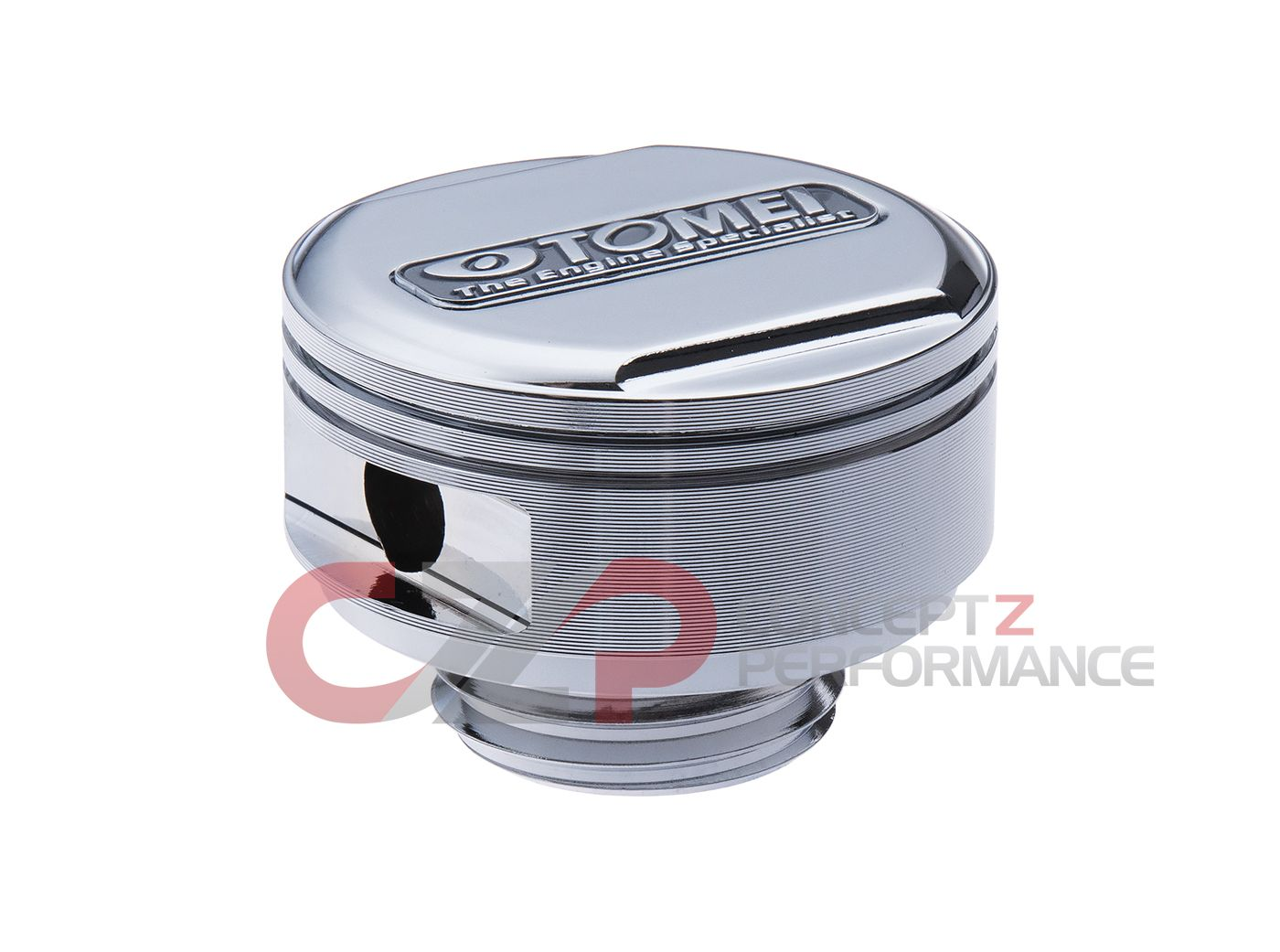 Tomei Nissan M32x3 5mm Forged Piston Oil Filler Cap SILVER TE201A-NS00A -  Concept Z Performance