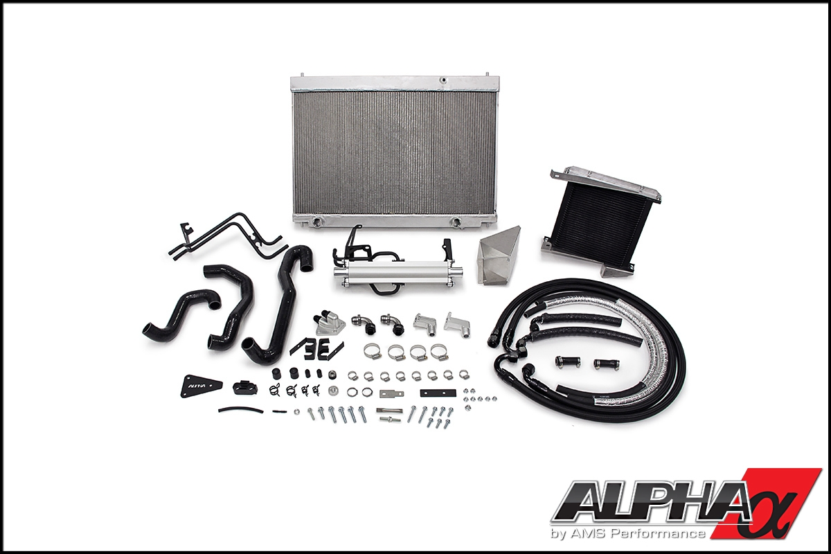 AMS Alpha Cooling Kit - Nissan GT-R R35