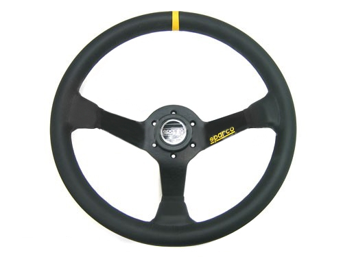 Sparco 015R325CLN Leather Steering Wheel