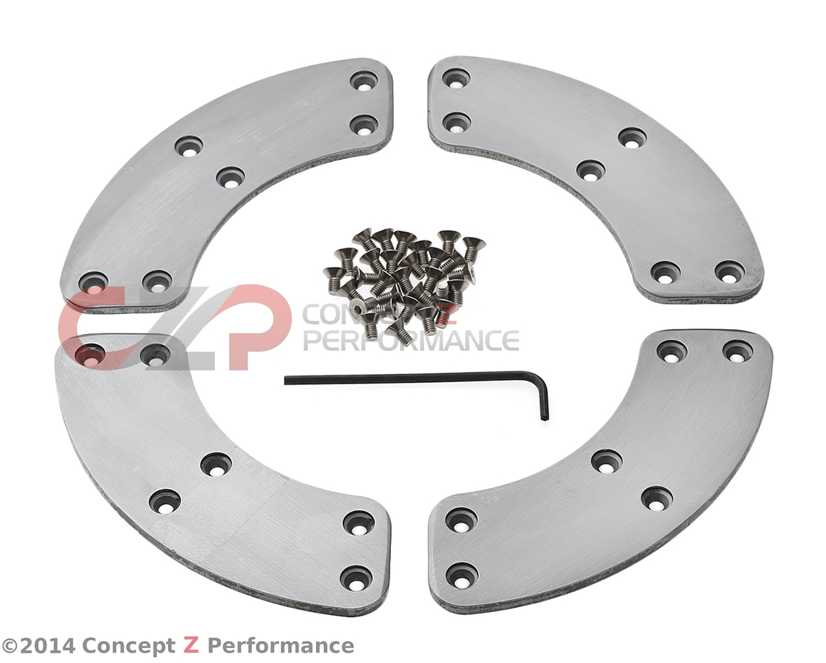RPS SZ Flywheel Replacement Segmented Insert Plates - Nissan 300ZX 90-96 Z32