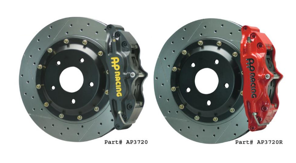 "AP Racing Big Brake Kit 4-Piston Front 13"" - Nissan 300ZX Z32"