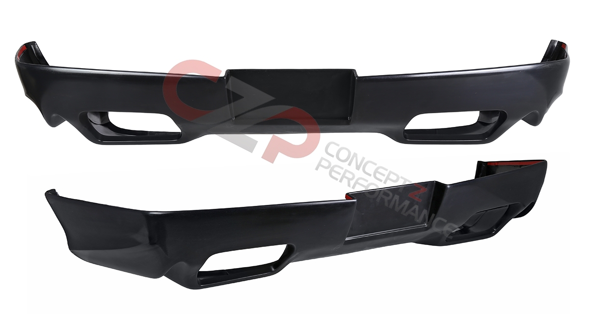 Wings West 890684 Rear Bumper Valance Polyurethane, Coupe 2-Seater - Nissan 300ZX 90-96 Z32